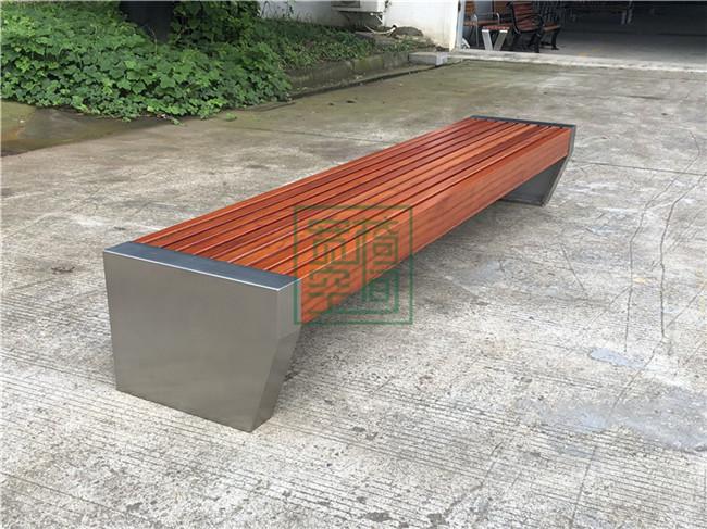 云南不锈钢公园休闲椅