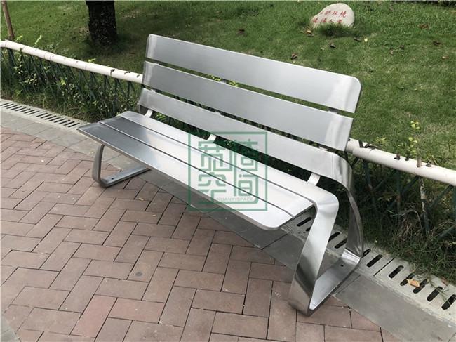 不锈钢公园椅