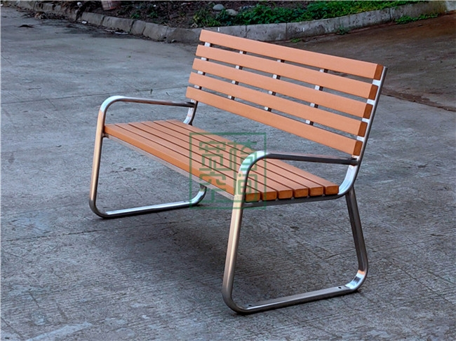 公园靠背休闲椅