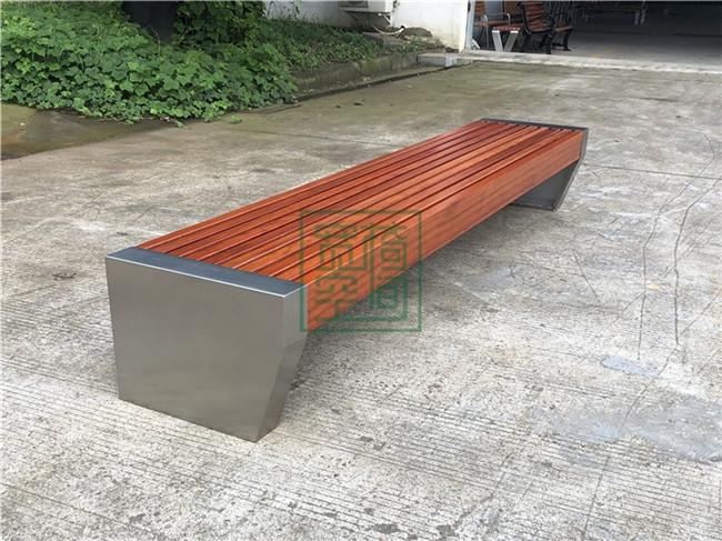 不锈钢公园休闲椅