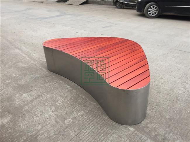 防腐木公园休闲椅
