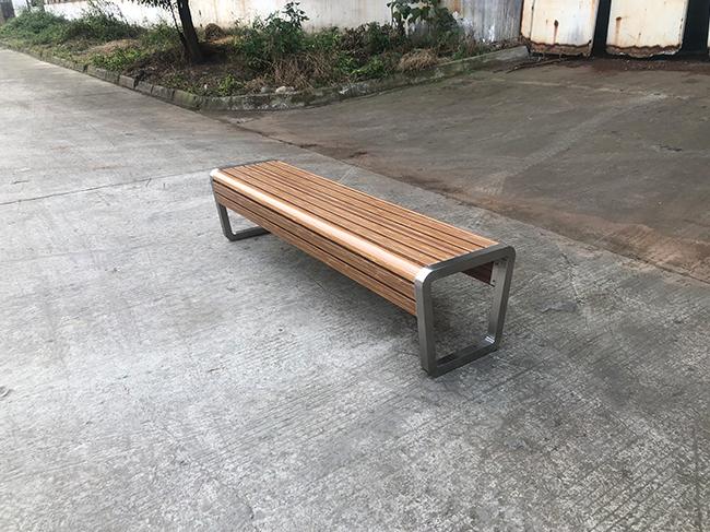 不锈钢公园休闲座椅